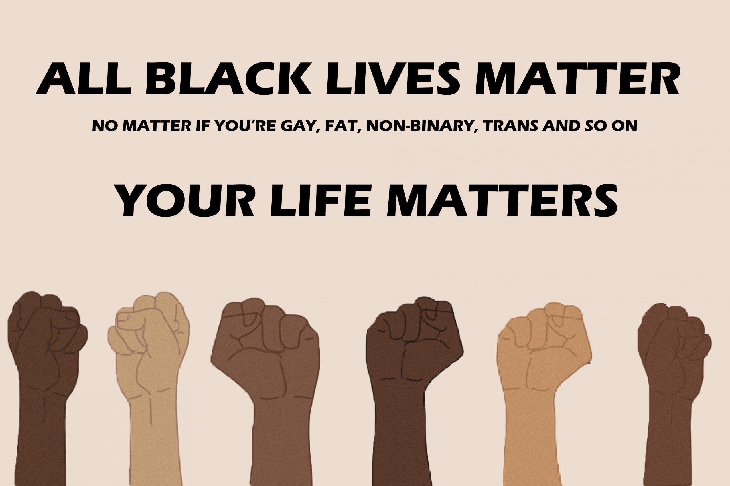 All Black Lives Matter, Kymoni McDermot <br>3834 x 2550 px <br> Graphic Design <br>