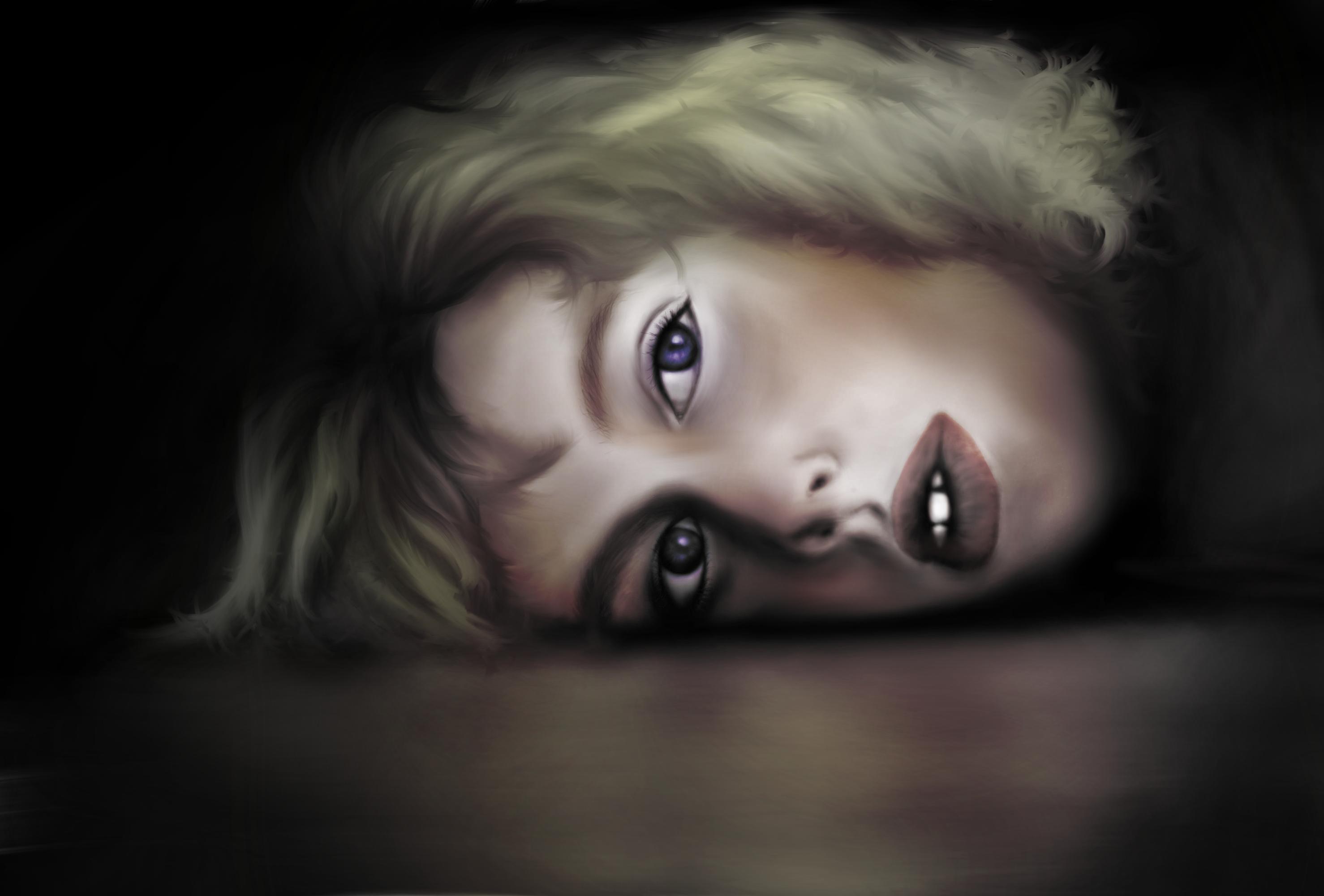 """Boy, Maria A Sanchez <br> 9.8 x 6.6"""" <br>Digital Art"""