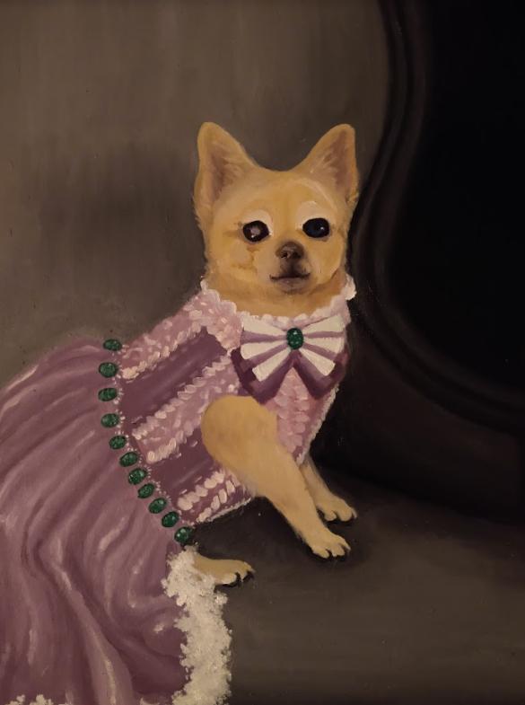 "Princess Kimmy, Ashley Wright<br>16 x 24""<br>Oil"